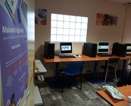 Salle formation Maison Digitale